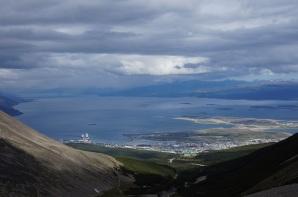 Ushuaia von oben