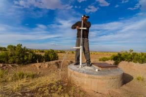 Manuelle Wasserpumpe