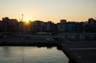 Abfahrt aus Albanien
